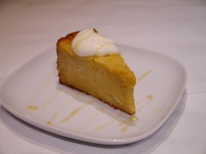 Ye Mar ena ye Wetet Dabo - A slice of our traditional melt in your mouth milk and honey cake - sweet, soft and gluten free
